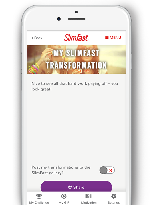 Free Slimfast Slimming Tools, BMI Calculator, Weight Tracker