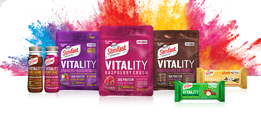 Slimfast advanced vitality products