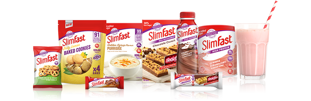 Slimfast products map