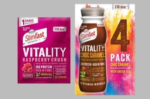 NEW SlimFast Vitality Sachets and Ready to Drink 4 packs