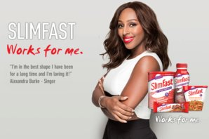 Introducing Our New SlimFast Ambassador Alexandra Burke