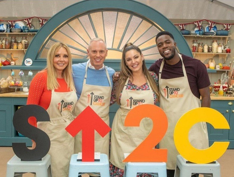 Kelly Brook on The Great British Bake Off!
