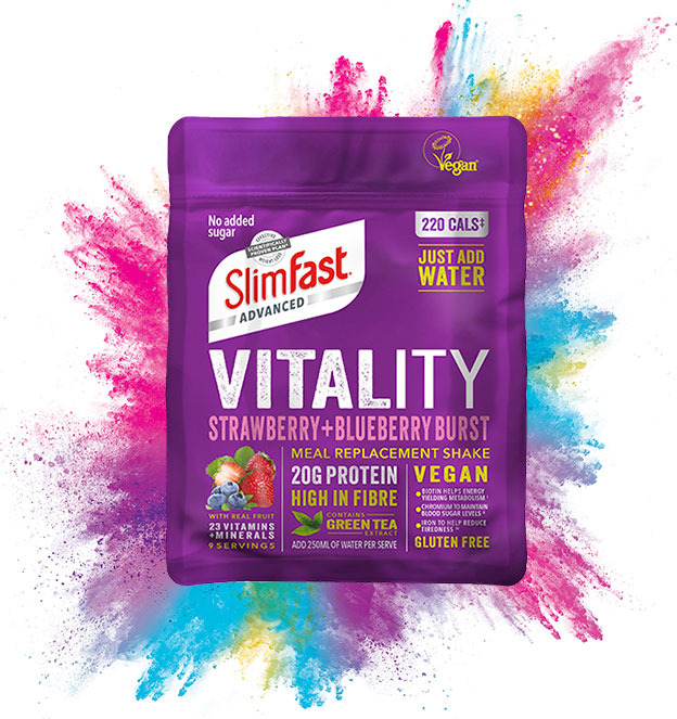 ​TOP TIPS FOR VEGANUARY – WITH SLIMFAST VITALITY