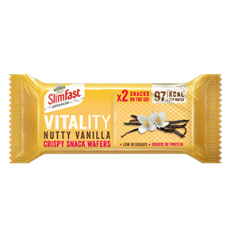 Nutty Vanilla Crispy Snack Wafers