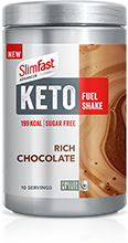 Rich Chocolate Keto Fuel Shake