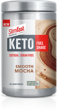 Smooth Mocha Keto Fuel Shake