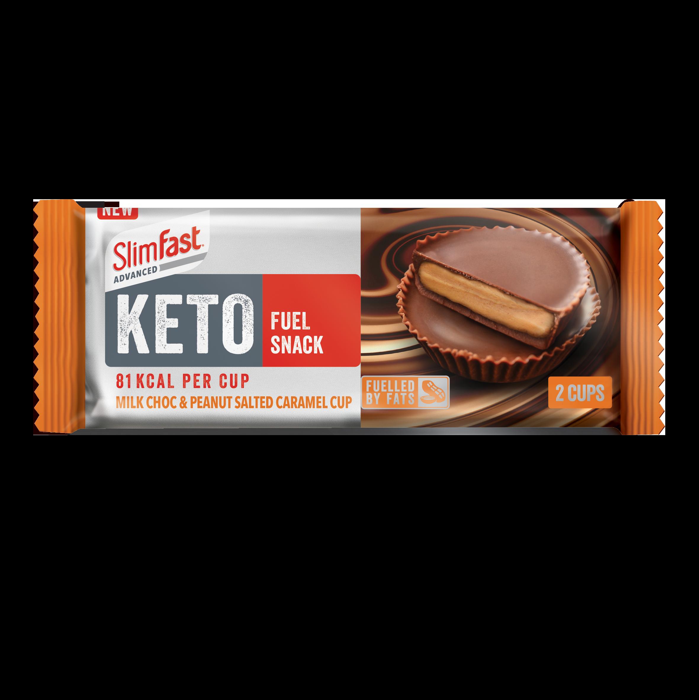 Milk Choc Peanut Salted Caramel Keto Fuel Snack