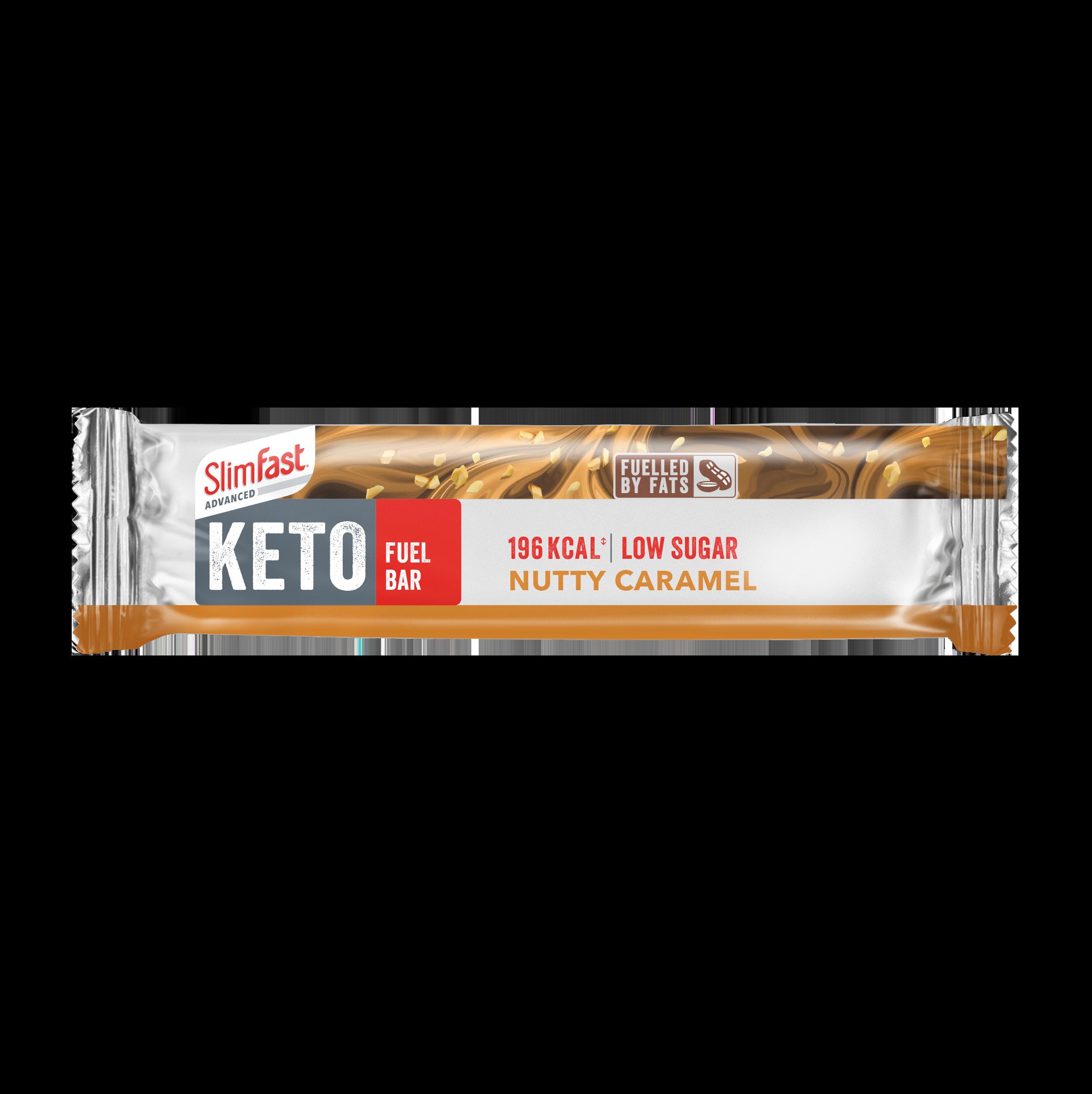 Nutty Caramel Keto Fuel Bar