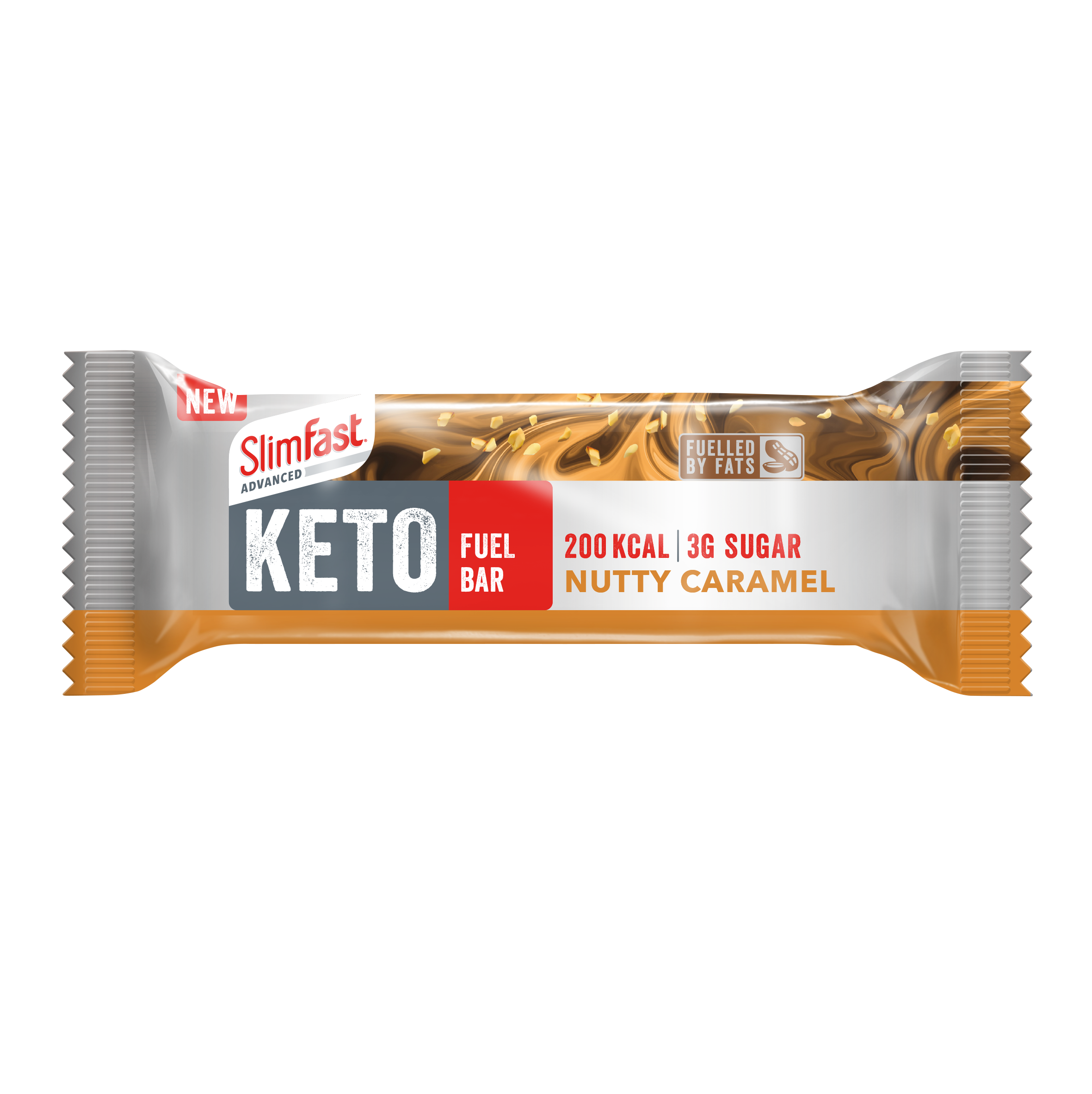 Nutty Caramel Keto Fuel Bar