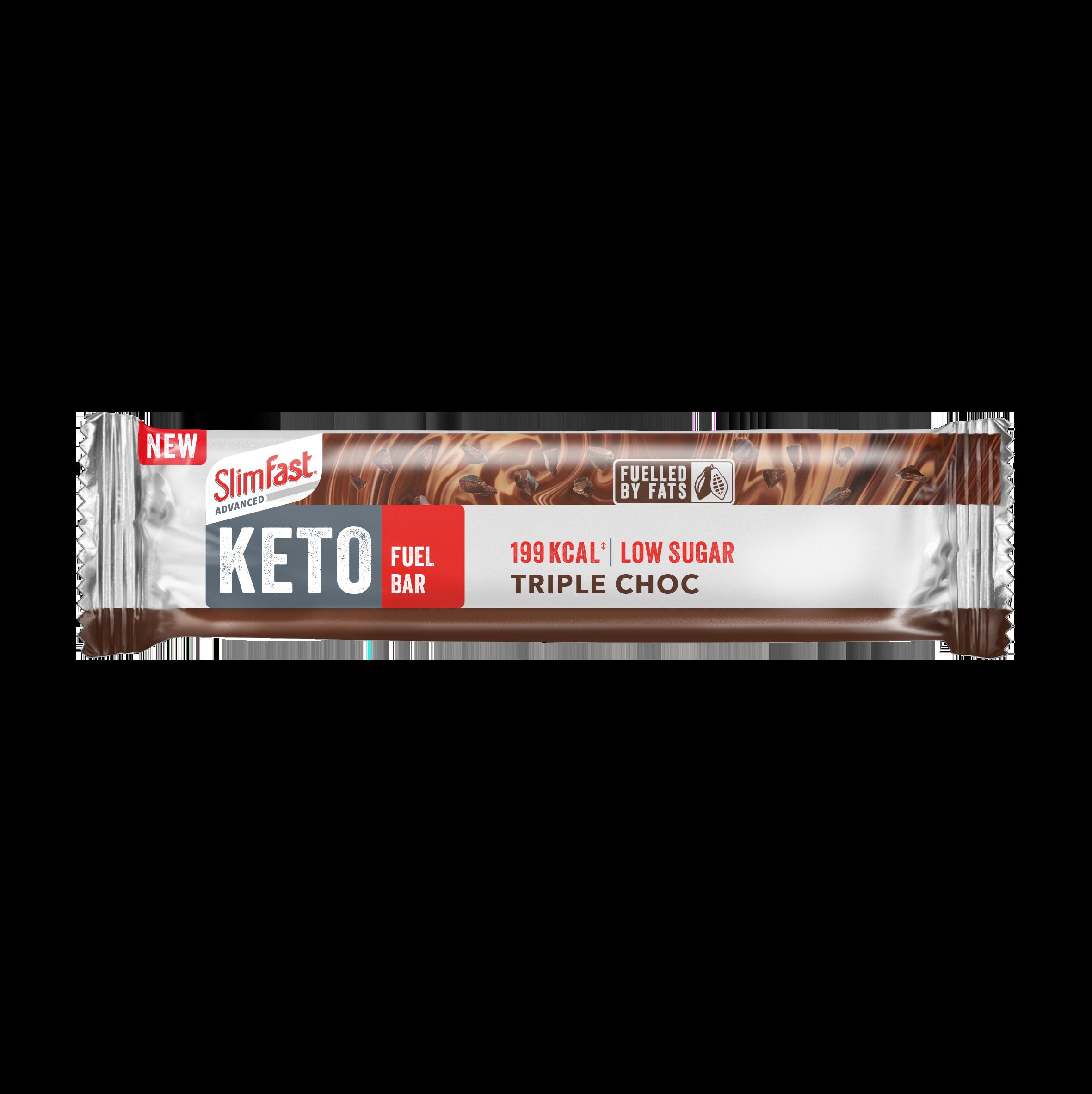 Triple Chocolate Keto Fuel Bar