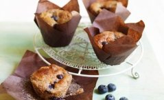Strawberry & Blueberry Muffins
