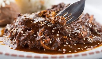 Chicken Mole and brown rice