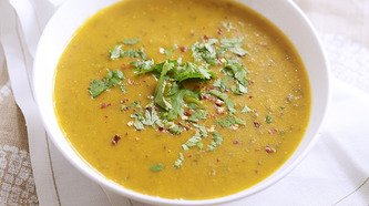 Care Free Carrot and Lentil Soup