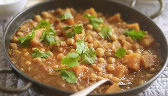Sweet and Joyful Potato Dahl