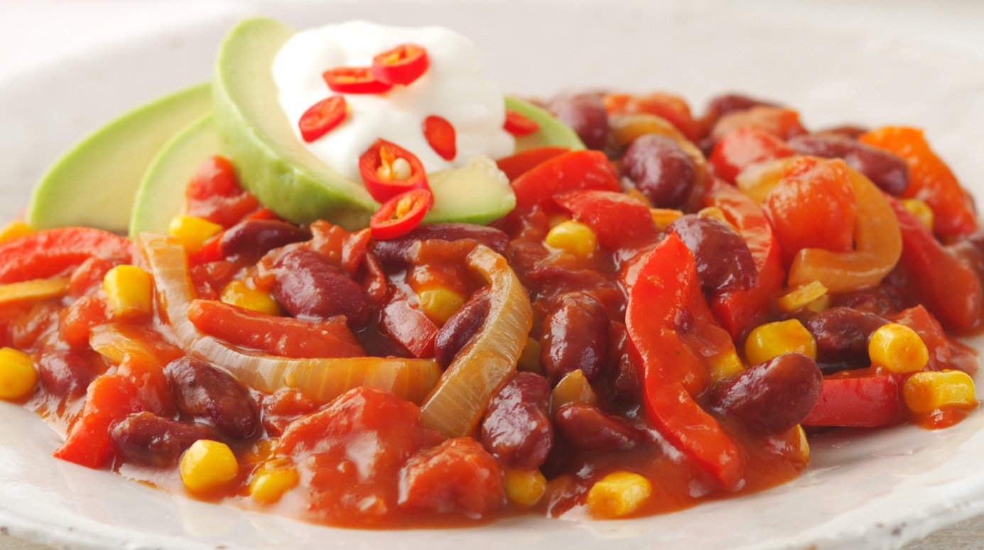 Red bean and pepper chilli